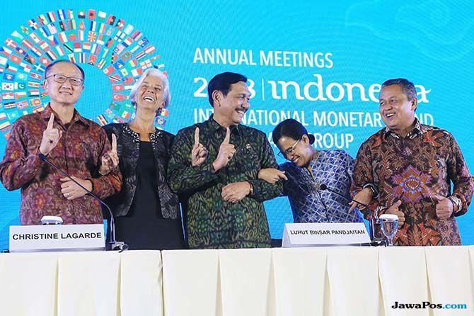 8 Kesepakatan dari Pertemuan Tahunan IMF-Bank Dunia