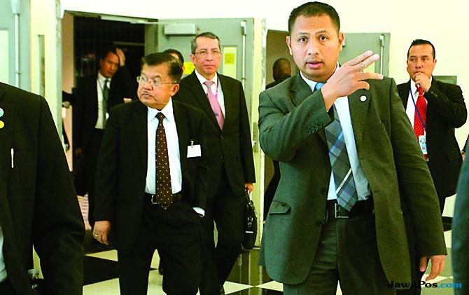 A.A. Permana mengawal Wapres Jusuf Kalla di New York, Amerika Serikat