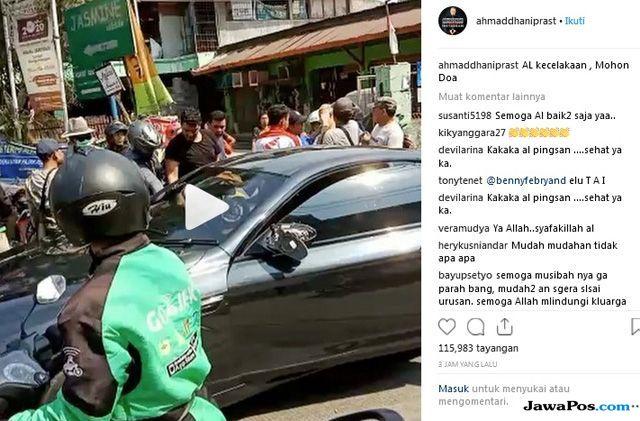 Ahmad Dhani Benarkan Putra Sulungnya Kecelakaan dan Minta Doa