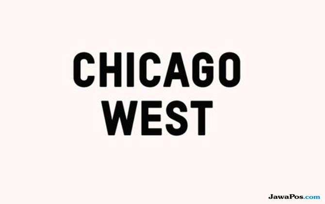 Nama anak ketiga Kim Kardashian dan Kanye West