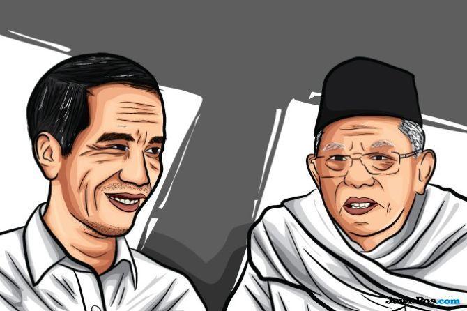 Pasangan Jokowi-Ma'ruf Amin