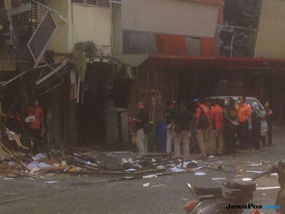 Anies Bersyukur Tidak Ada Korban Saat Ledakan di Ruko Grand Wijaya