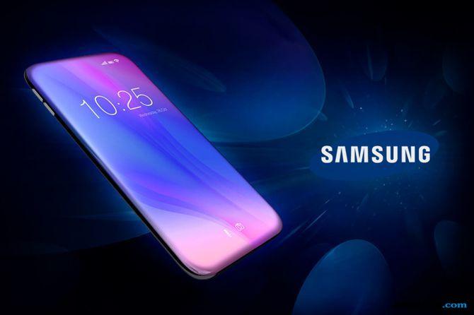 Samsung Galaxy Zero, Samsung Kamera Selfie, Samsung kamera balik layar