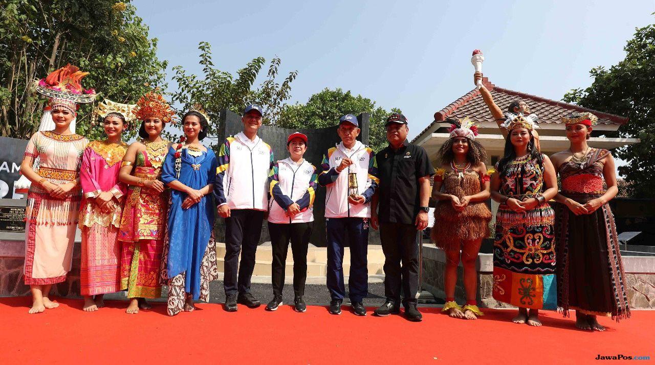 Asian Games 2018, Api Abadi, Mrapen, Puan Maharani, 7 Bidadari, Putri Indonesia