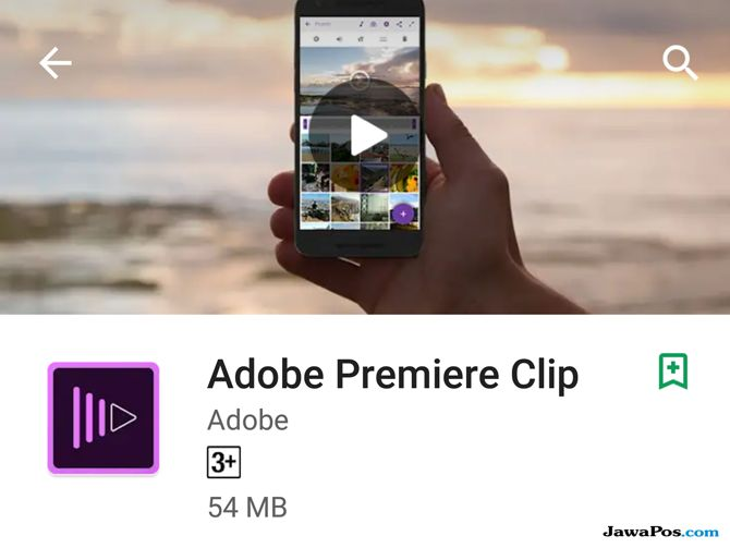 Adobe Premiere Clip, edit video smartphone