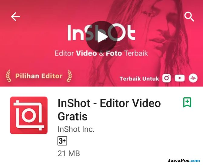 InShoot – Editor Video, edit video smartphone