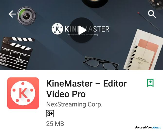 KineMaster, edit video smartphone