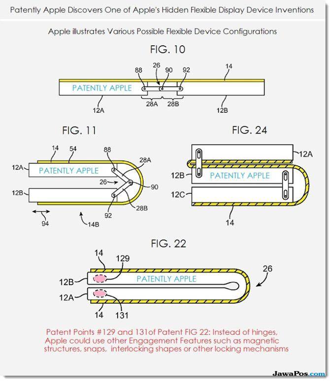Apple Siapkan Smartphone Lipat, Begini Bocoran Desainnya