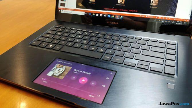 Asus Laptop Dua Layar, Asus ZenBook Pro 15 UX580, Asus Laptop Premium