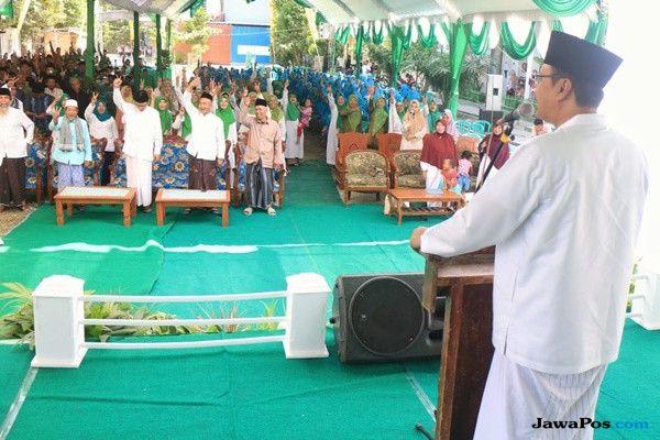 Banom NU Madiun Deklarasi Dukung Gus Ipul-Puti