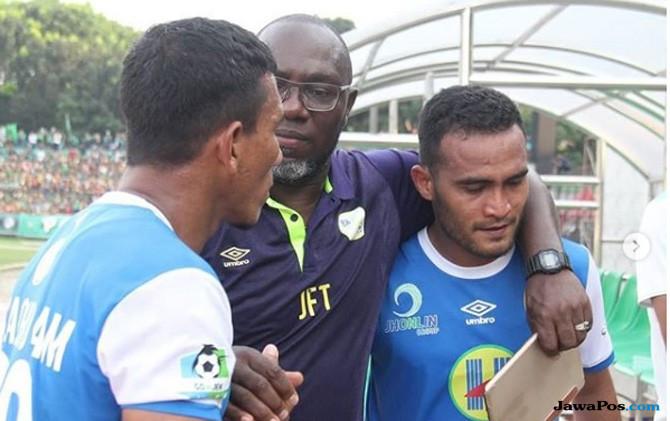 Hasil Perseru vs Barito Putera, Perseru Serui 0-1 Barito Putera, Perseru Serui, Barito Putera, Liga 1 2018, Rizky Pora