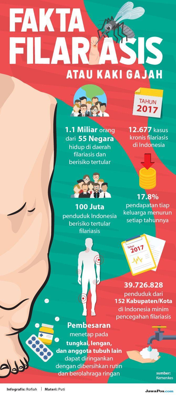 Filariasis, penyakit kaki gajah, penularan kaki gajah, pengobatan kaki gajah,