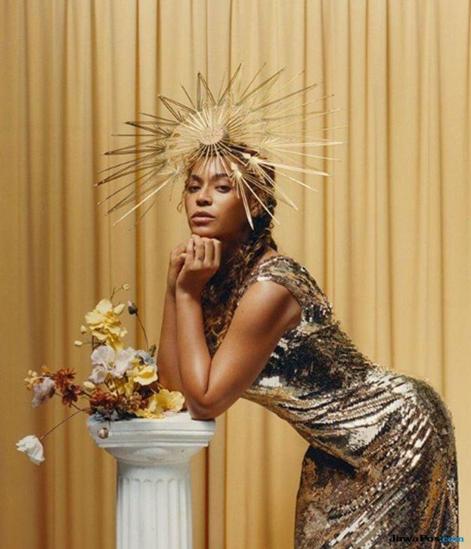 Beyonce Knowles, perubahan tubuh beyonce, cover majalah vogue, beyonce di vogue,