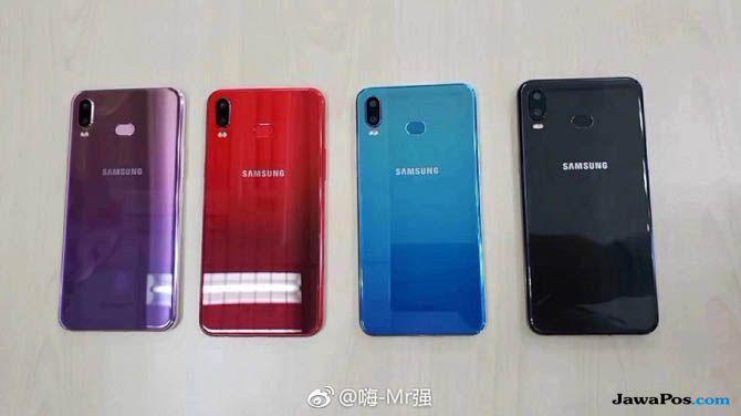 Samsung Galaxy A6S, Smartphone Samsung Xiaomi, Samsung Galaxy A6S dibikin Xiaomi
