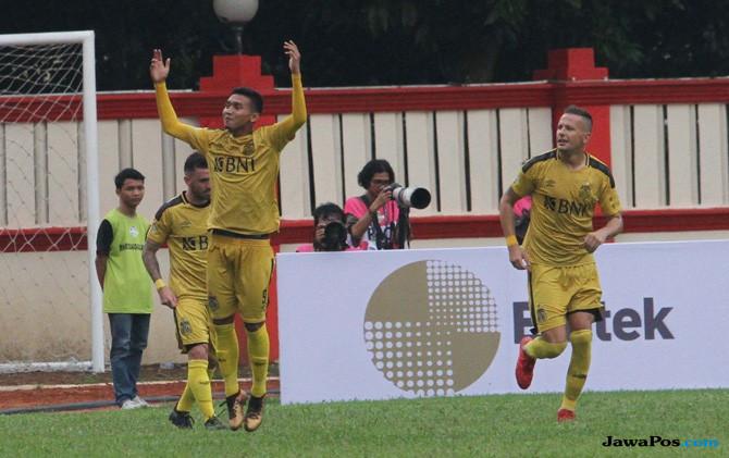 Hasil Bhayangkara FC vs Mitra Kukar, Bhayangkara FC 1-0 Mitra Kukar, Liga 1 2018, Hargianto, Bhayangkara FC, Mitra Kukar