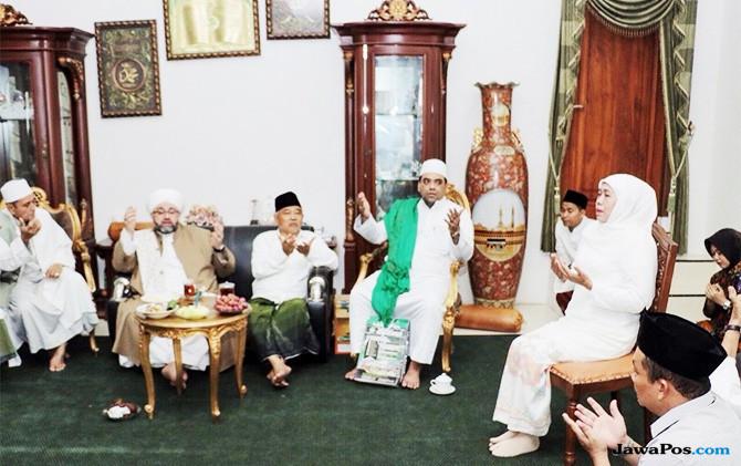 Cicit Syekh Abdul Qodir Al-Jailani Doakan Khofifah Pimpin Jatim