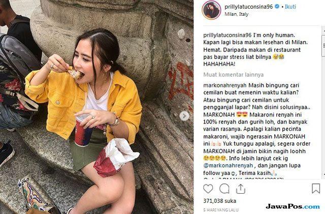 Cinta Indonesia, Prilly Latuconsina Sebut di Milan Juga Macet