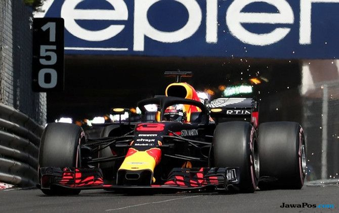 Formula 1, F1, GP Monako, Sebastian Vettel, Lewis Hamilton, Valterri Bottas, Daniel Ricciardo, Max Verstappen, Kimi Raikkonen