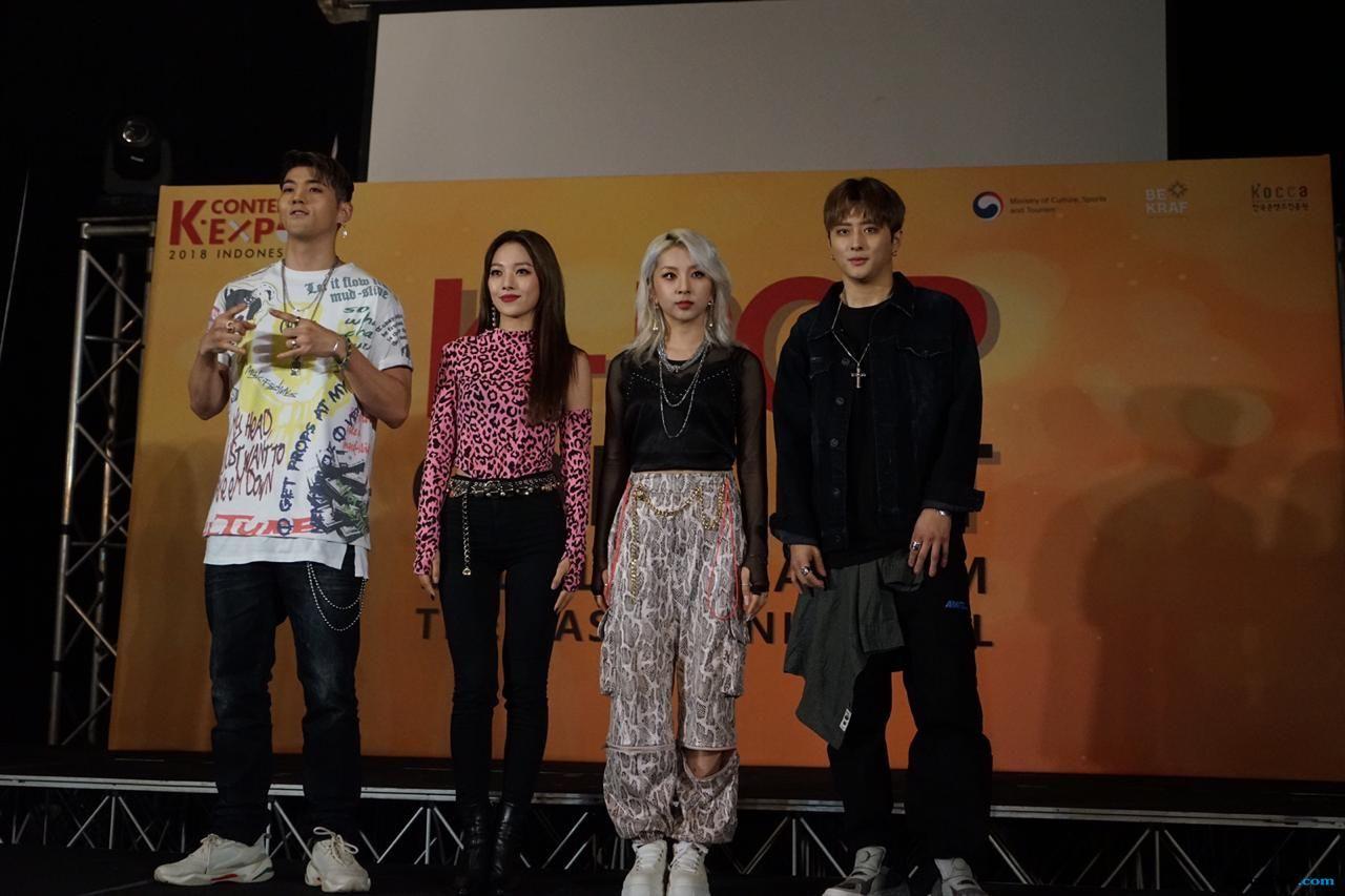 Datang ke Indonesia, Nasi Goreng Masih Jadi Idola Artis K-pop