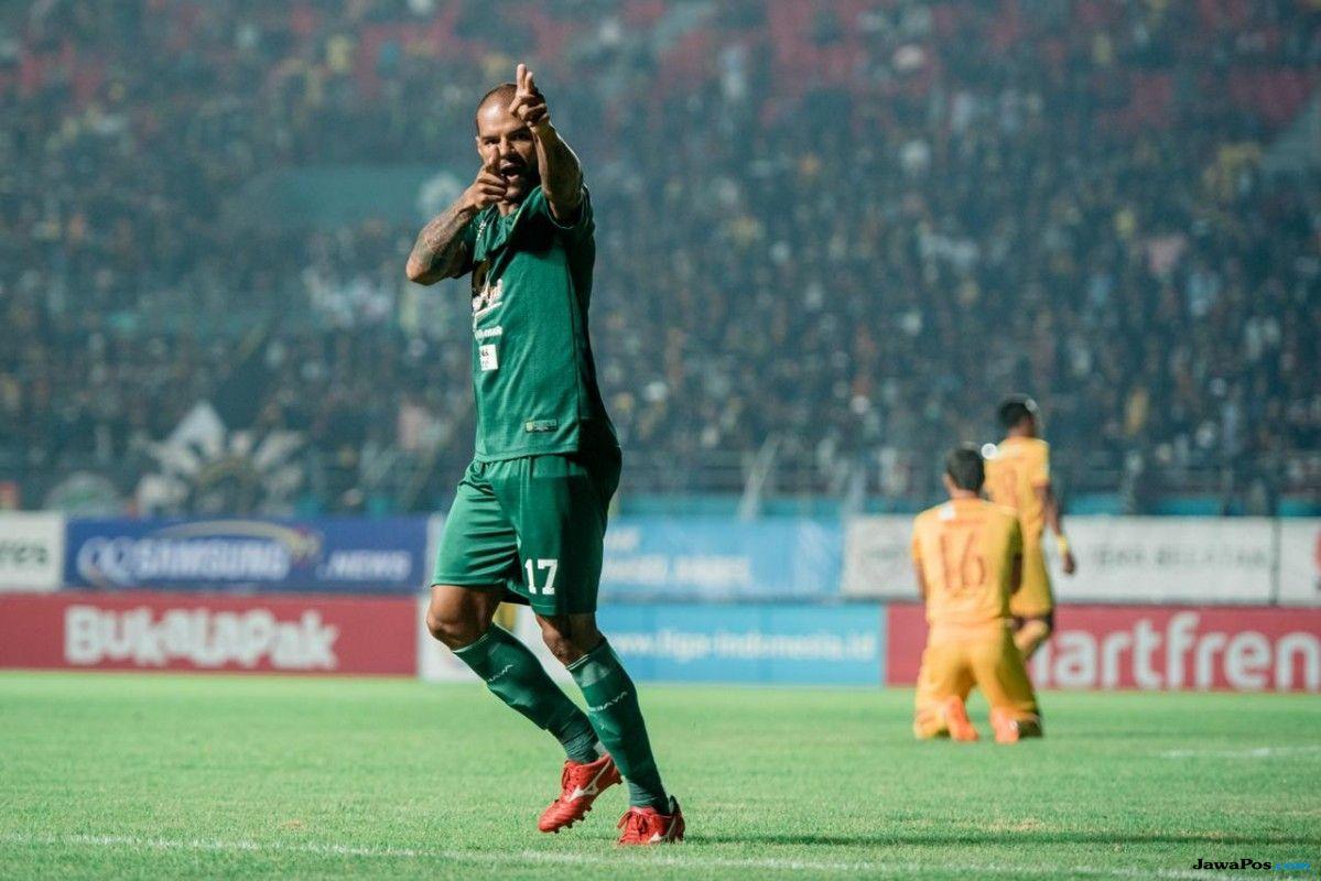 Persebaya Surabaya, Liga 1 2018, Mitra Kukar, David da Silva