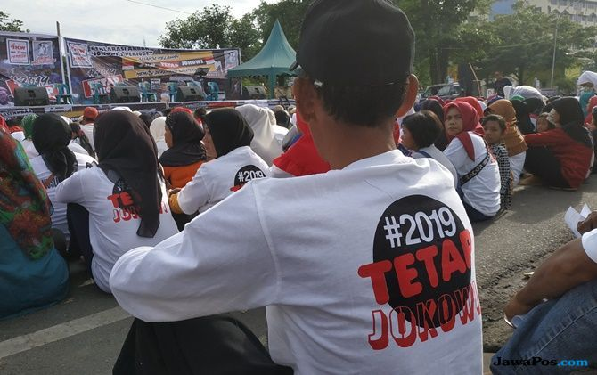 Deklarasi 2 Periode, Massa #2019TETAPJOKOWI Pilih Berzikir