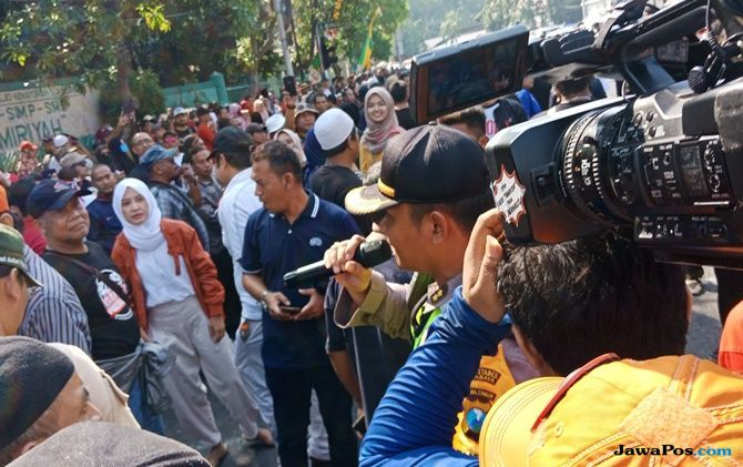 Deklarasi #2019GantiPresiden di Surabaya Memanas