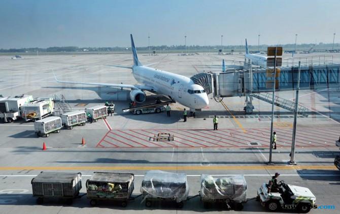 "Di Balik ""Dapur"" Pengatur Lalu Lintas Pesawat di Bandara Soetta"