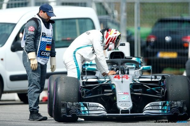 Formula 1, F1, GP Jerman, Sebastian Vettel, Lewis Hamilton, Valterri Bottas, Daniel Ricciardo, Max Verstappen, Kimi Raikkonen