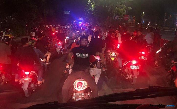 Persebaya Surabaya, Bonek, Liga 1 2018, Bonek, Arema FC