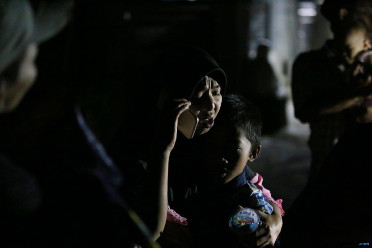 Drama Persalinan setelah Gempa Mengguncang Lombok