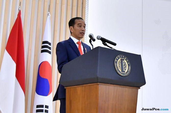 Dua Persinggahan Presiden Jokowi di Korea