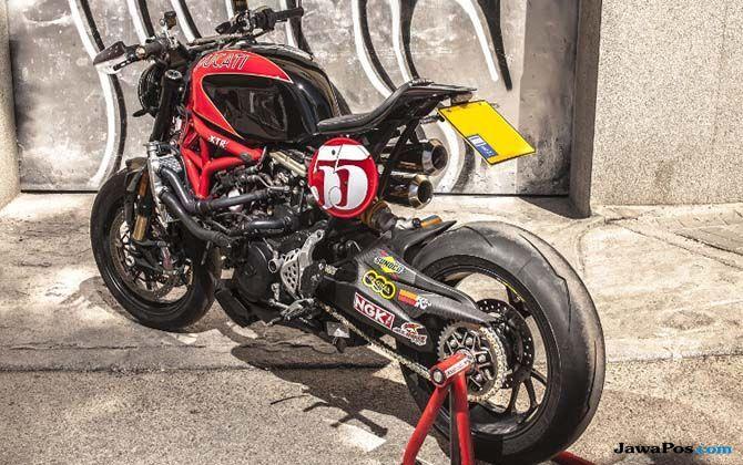 Ducati Monster Godfather Buah Tangan Pakar Biologi