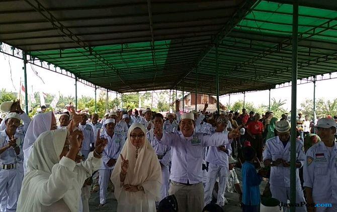 Dukung Jokowi-Ma'ruf, Kelompok Tani Ingin Sertifikat Tanah