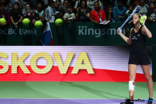 Tenis, Final WTA 2018, Karolina Pliskova