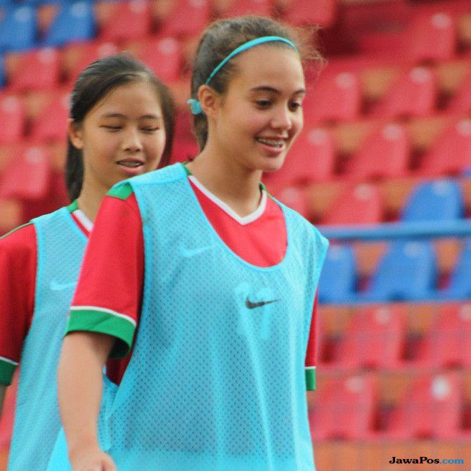 Portia Louise Fischer, Timnas Putri U-16 Indonesia, Gadis Blasteran