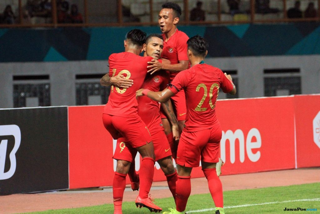 Piala AFF 2018, Timnas Indonesia, Indonesia, Singapura, Evan Dimas Darmono