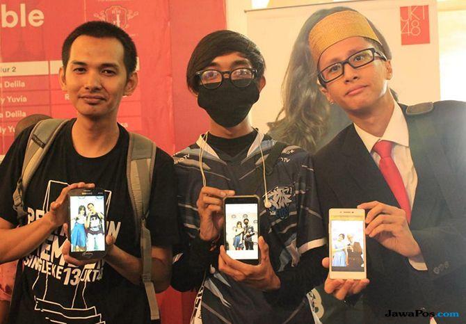 Fans di Makassar Siap Menangkan Yupi di 'Pemilu' JKT48