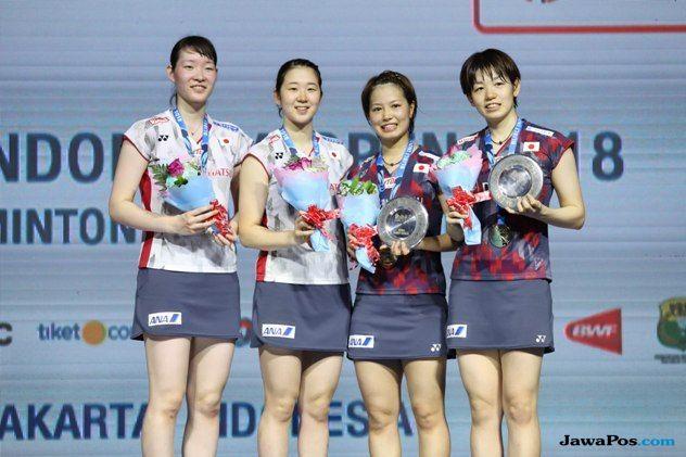 Kejuaraan Dunia 2018, Jepang, Yuki Fukushima/Sayaka Hirota