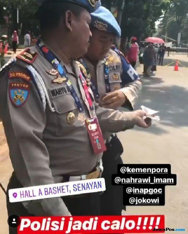 Gara-gara Viralkan Polisi Calo Tiket, Augie Fantinus Diperiksa Polisi