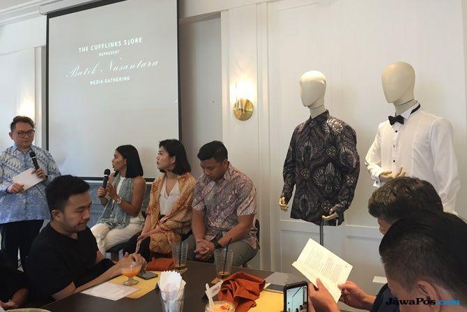 mike lewis, tren batik, batik pria, koleksi the cufflinks store,