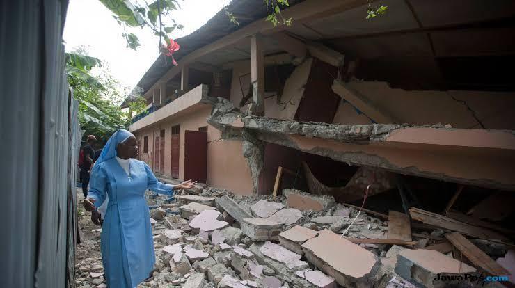 gempa haiti, gempa, bencana,