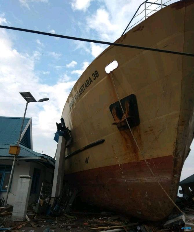 Gempa di Palu Rusak Sejumlah Fasilitas Pelabuhan, Begini Kondisinya