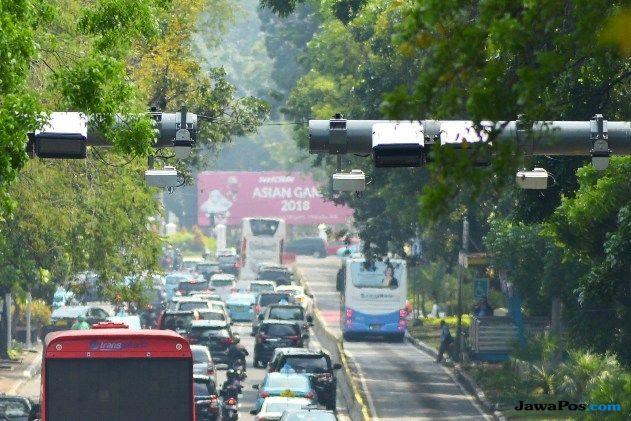 Gerbang ERP Terpasang Dekat Kantor Jokowi
