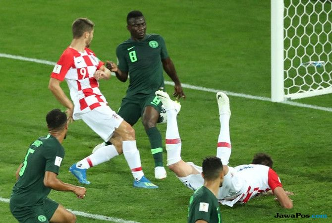 Piala Dunia 2018, Nigeria, Kroasia, Kroasia vs Nigeria