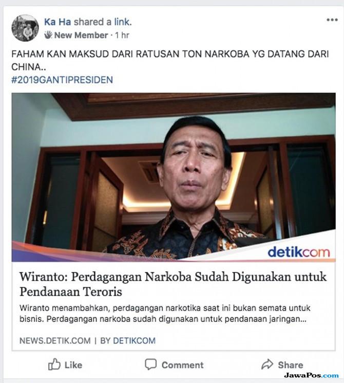 Hasutan SARA Catut Nama Wiranto