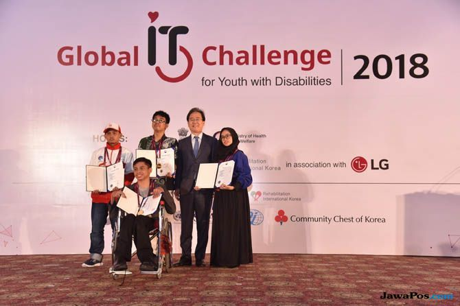 Remaja Indonesia Juara, Indonesia Juara IT LG, Global IT Challenge for Youth With Dissabilitie