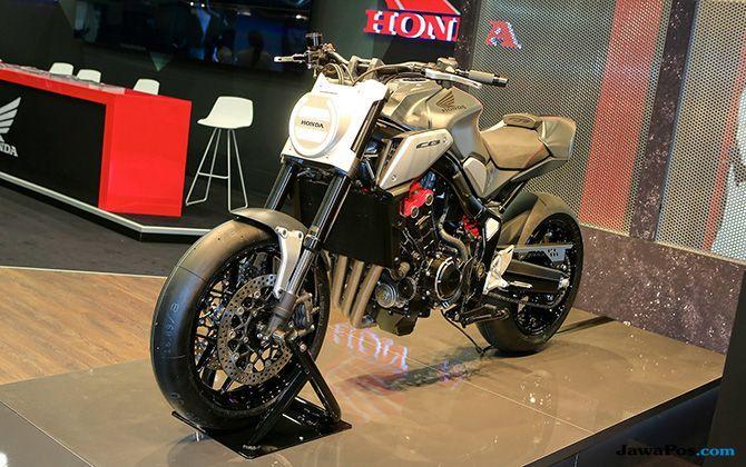 Honda CB Neo Sport Café, Bikin Ngiler Pengunjung Paris Motor Show 2018