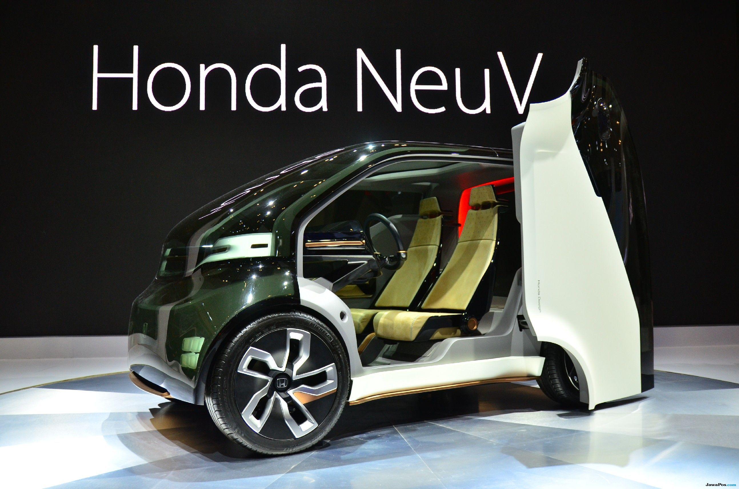 Honda NeuV: Mobil Listrik Pintar, Mampu Mengenali Emosi Pengemudi