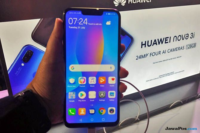 Huawei Nova 3i, huawei kangkangi apple, smartphone huawei nova 3i
