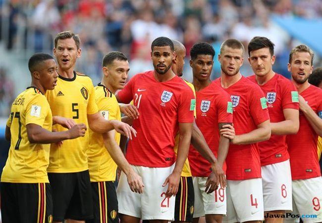 PerinPiala Dunia 2018, Peringkat ketiga, Timnas inggris, Timnas Belgia, Belgia vs Inggris, Inggris vs Belgia